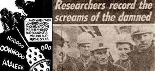 researchers record the screams of the damned newspaper The real hell ( russia's well to hell) 19 pins 223 followers heard of the finnish newspaper called: researchers record screams of the damned in hell.